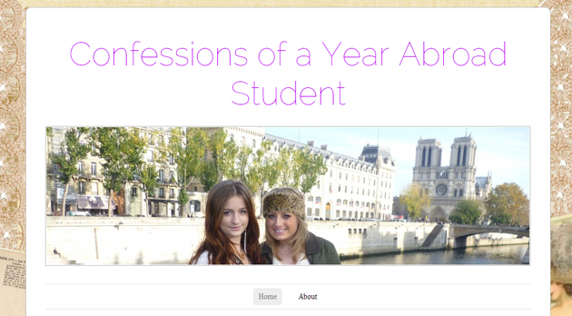 confessions of a year abroad student